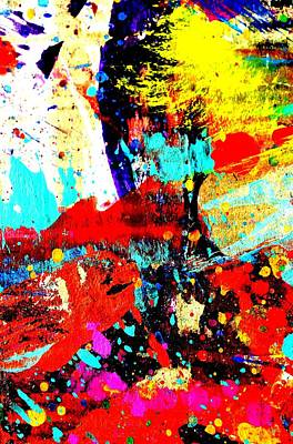Abstract Expressionism Painting - Fine Art America Abstract by John  Nolan