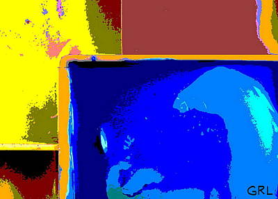 Painting - Fine Art Digital Print N1c 3 by G Linsenmayer