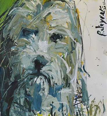 Painting - Fine Art Dog Print by Robert Joyner