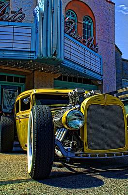 Photograph - Fine Arts And The Rat Rod by Tim McCullough