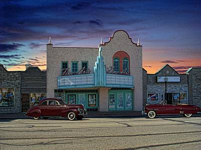 Photograph - Fine Arts Theater by Tim McCullough