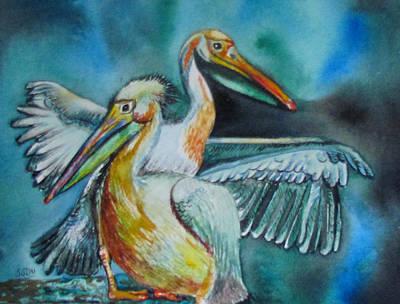 Painting - Fine Pair by Susan Duxter