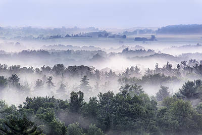 Finger Lakes Morning Art Print