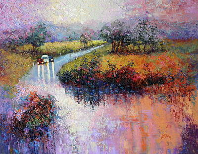 Painting - Fingerboard Road by Marie Green