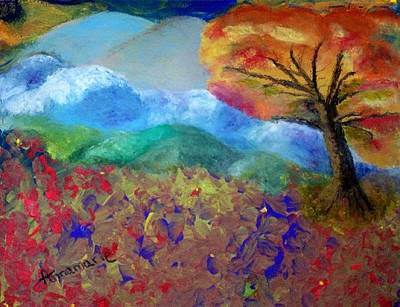 Painting - Fingerpainting by Annamarie Sidella-Felts