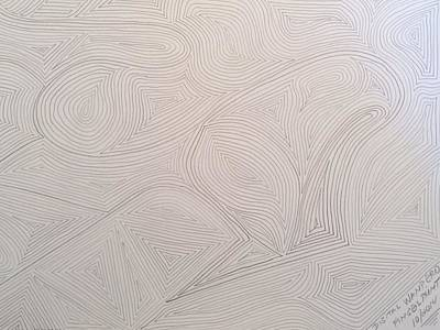 Fingerprint Drawing - Fingerprint 10/2014 by Wanpero Wan