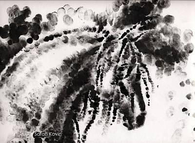 Fingerprint Drawing - Fingerprints by Sarah Kovin Snyder
