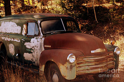 Photograph - Chevy Shadows by Anjanette Douglas