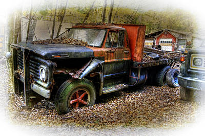Photograph - Finished Ford Finale. by David Birchall