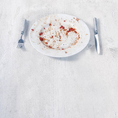 Tableware Photograph - Finished Plate by Joana Kruse