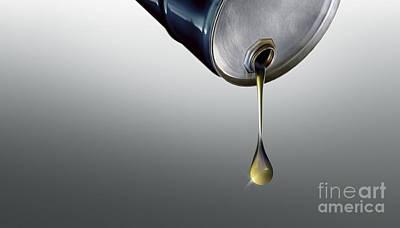 Finite Oil Resources, Conceptual Artwork Art Print by Wieslaw Smetek