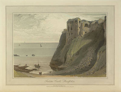 Finlater Castle Print by British Library