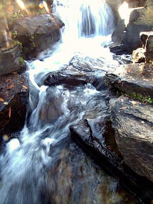 Photograph - Finlay Park Waterfall by Lisa Wooten
