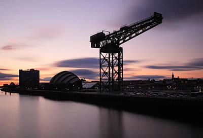 Photograph - Finnieston Crane Glasgow  by Grant Glendinning