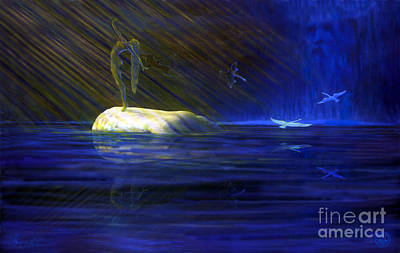 Tuatha Painting - Finnulla's Dream by Jerry Kool