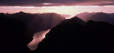 Fiordland National Park New Zealand Art Print by Panoramic Images