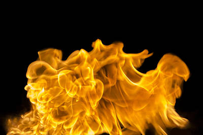 Travel Rights Managed Images - Fire 005 Royalty-Free Image by Robert Mollett