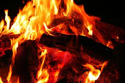 Photograph - Fire-2 by Denise Moore