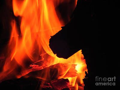 Photograph - Fire 2 by Melissa Lightner