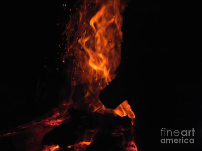 Photograph - Fire 3 by Melissa Lightner