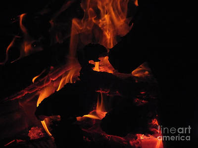 Photograph - Fire 5 by Melissa Lightner