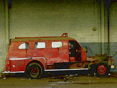 Mixed Media - Fire Alarm by Dennis Buckman