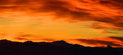 Photograph - Fire And Ice by Philip Rispin