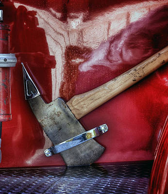 Photograph - Fire Axe by Bill Owen