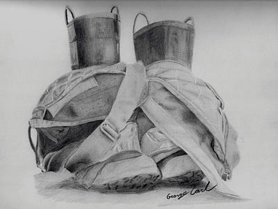 Fire Boots Original by George Carl