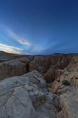Photograph - Fire Canyon Afterglow by Rick Berk