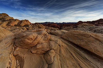 Photograph - Fire Canyon, Valley Of Fire by Rick Berk
