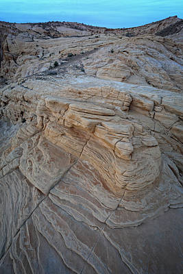 Photograph - Fire Canyon Layers by Rick Berk