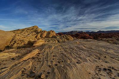 Valley Of Fire Wall Art - Photograph - Fire Canyon Rim by Rick Berk