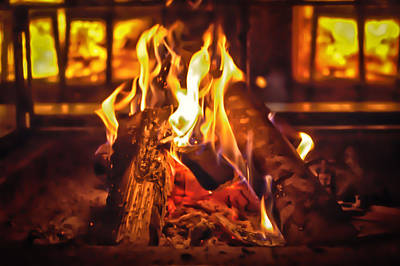 Photograph - Fire by Chris Boulton