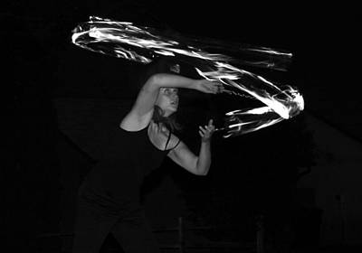 Photograph - Fire Dance 4 by Tarey Potter