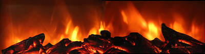 Photograph - Fire Dance - Panorama by Ericamaxine Price