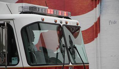 Photograph - Fire Department Pride by Dan Sproul