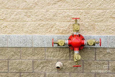 Photograph - Fire Department Water Valve by Imagery by Charly