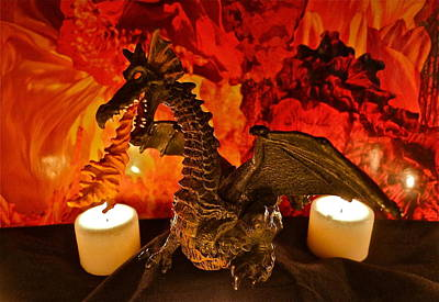 Photograph - Fire Dragon by Denise Mazzocco