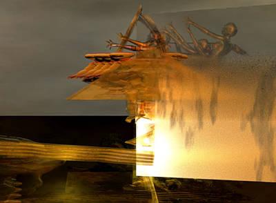 Digital Art - Fire Dream #5_p_300 by Stephen Donoho