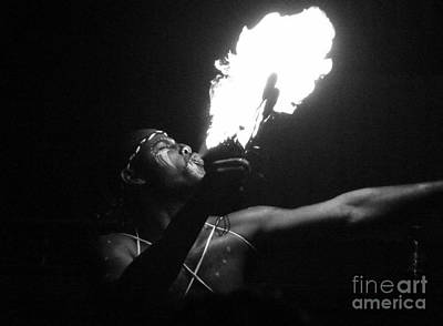 Anna Duyunova Art Photograph - Fire Eater by Anna  Duyunova