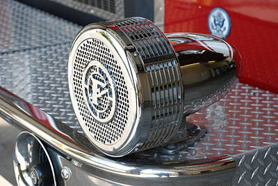 Photograph - Fire Engine Siren by Beverly Stapleton