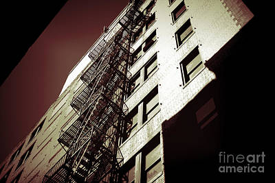 Photograph - Fire Escape by Audreen Gieger
