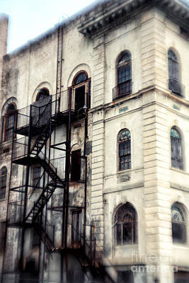 Photograph - Fire Escape In Asbury by John Rizzuto