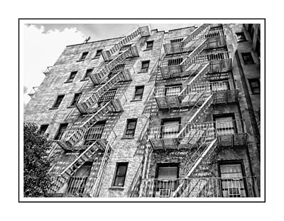 Photograph - Fire Escapes by Alice Gipson