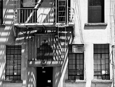 Photograph - Fire Escapes At 231 by Cornelis Verwaal