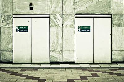 Legislation Photograph - Fire Exits by Tom Gowanlock