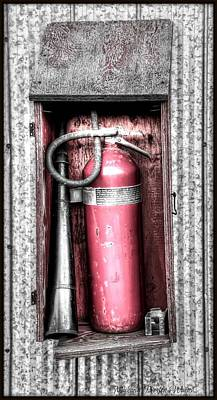 Photograph - Fire Extinguisher by Michaela Preston