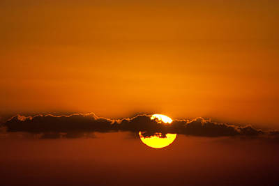 Sunrise Photograph - Fire Eye by Jared Shomo