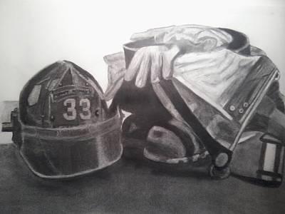 Fire Fighter Original by Kimberly Matherly